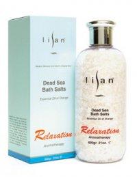 Lisan Dead Sea Relaxation Bath Salts (Essential Oil of Orange), 600 g
