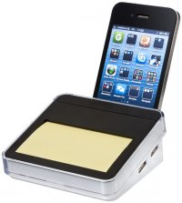 Arcas Sticky Notes Smartphone Stand and USB Hub